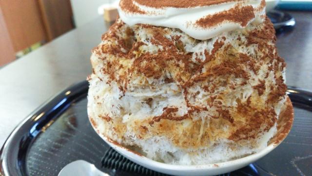 ティラミスかき氷の作り方レシピ|夏にぴったり